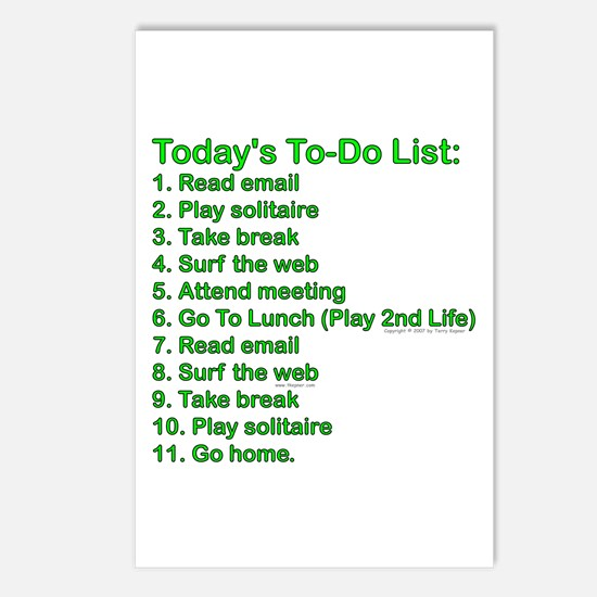 To-Do List: Postcards (Package of 8)