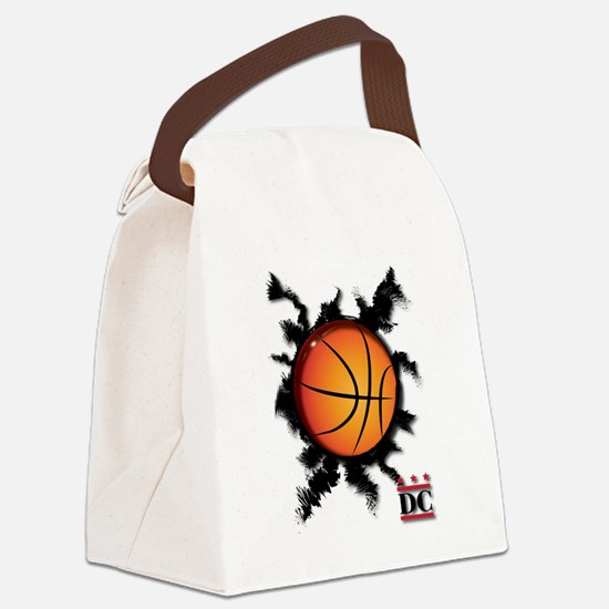 Basketball DC logo Canvas Lunch Bag