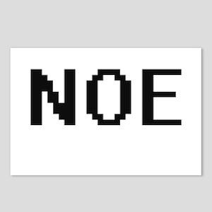Noe Digital Name Design Postcards (Package of 8)