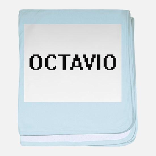 Octavio Digital Name Design baby blanket