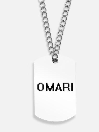 Omari Digital Name Design Dog Tags