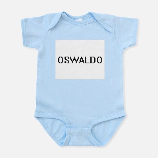 Oswaldo Digital Name Design Body Suit