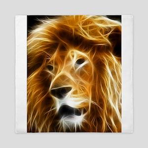 Abstract Lion Queen Duvet