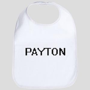 Payton Digital Name Design Bib