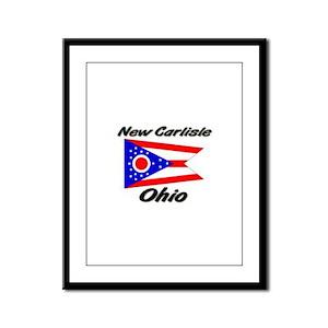 New Carlisle Ohio Framed Panel Print