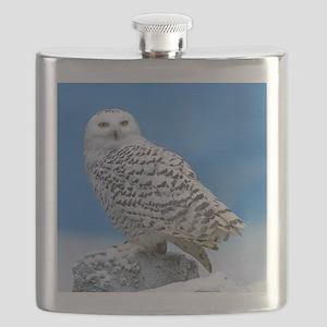 Snowy Owl Flask