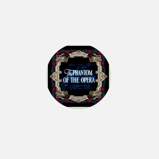Phantom Of The Opera Lettering With Mini Button