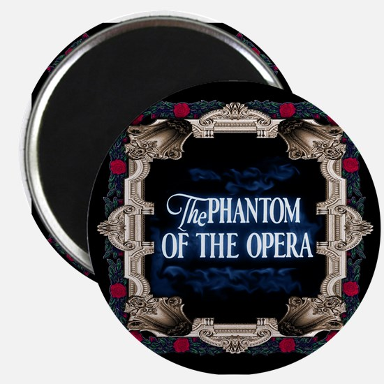 Phantom Of The Opera Lettering With Red Magnets