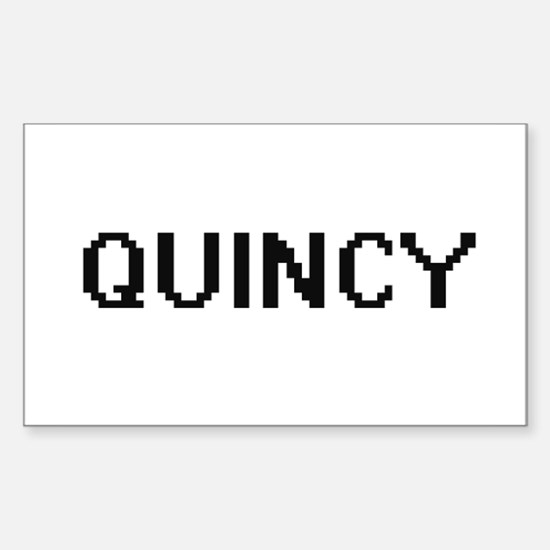 Quincy Digital Name Design Decal