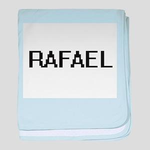 Rafael Digital Name Design baby blanket