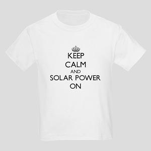 Keep Calm and Solar Power ON T-Shirt