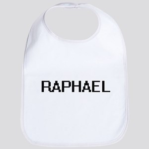 Raphael Digital Name Design Bib