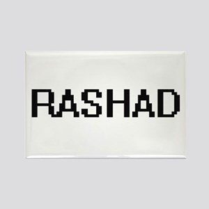 Rashad Digital Name Design Magnets