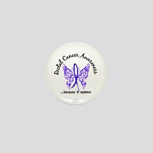 Rectal Cancer Butterfly 6.1 Mini Button