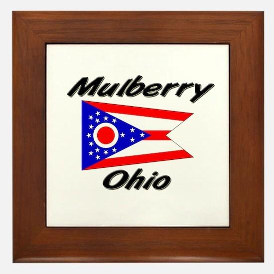 Mulberry Ohio Framed Tile