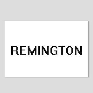 Remington Digital Name De Postcards (Package of 8)