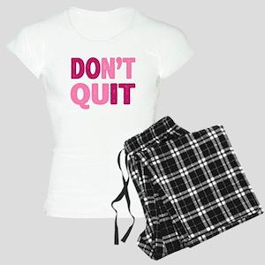 Don't Quit - Do It Women's Light Pajamas