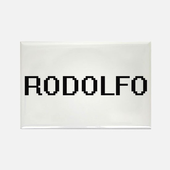 Rodolfo Digital Name Design Magnets
