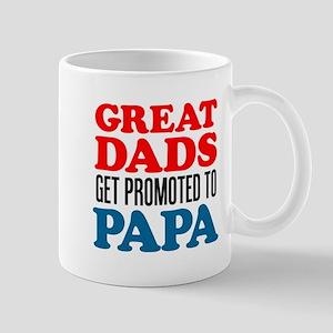 Promoted To Papa Drinkware Mugs