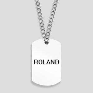 Roland Digital Name Design Dog Tags