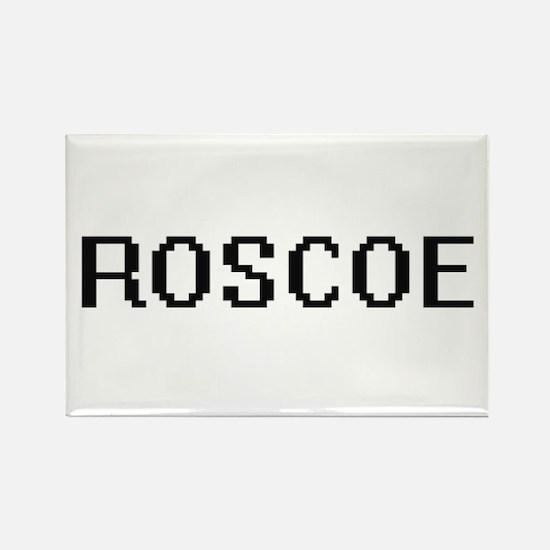Roscoe Digital Name Design Magnets