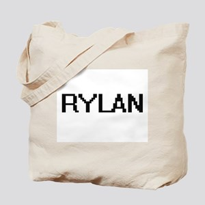 Rylan Digital Name Design Tote Bag