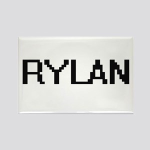 Rylan Digital Name Design Magnets