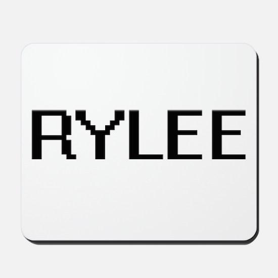 Rylee Digital Name Design Mousepad
