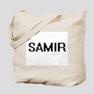Samir Digital Name Design Tote Bag