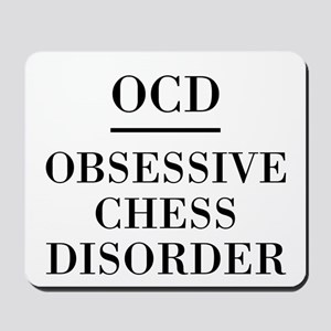 Chess Disorder Mousepad