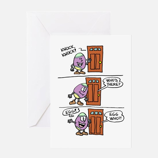 Egg Easter Funny Card Greeting Cards
