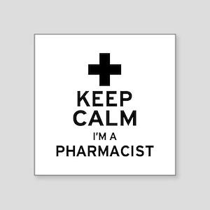 Keep Calm Pharmacist Sticker