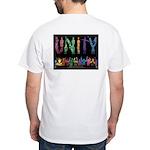 """""""Unity"""" White T T-Shirt"""