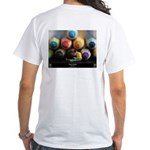 """Rainbow Reading"" White T-Shirt"