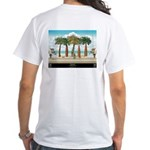 """Promenade"" White T-Shirt"