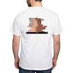 """""""Black & White"""" White T-Shirt"""