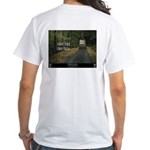 """""""Paint Your Own Path"""" White T-Shirt"""