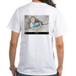 """""""A Helping Hand"""" White T-Shirt"""