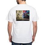 """""""Time Warp"""" White T-Shirt"""