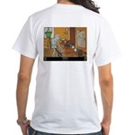 """Self Reflection"" White T-Shirt"