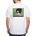"""Restrained"" White T-Shirt"