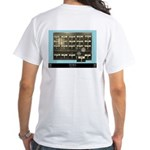 """""""Discovering Love"""" White T-Shirt"""
