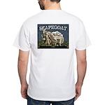 """""""Scapegoat"""" White T-Shirt"""