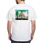 """""""Friends"""" White T-Shirt"""