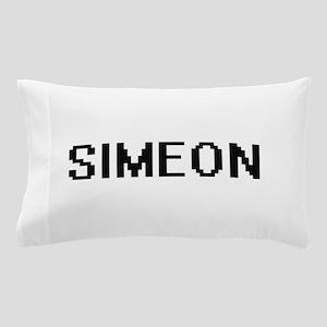 Simeon Digital Name Design Pillow Case