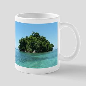 Blue Lagoon Monkey Island Jamaica Mugs