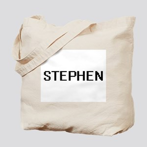 Stephen Digital Name Design Tote Bag