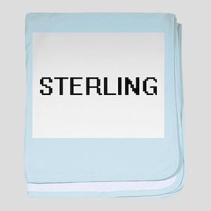 Sterling Digital Name Design baby blanket