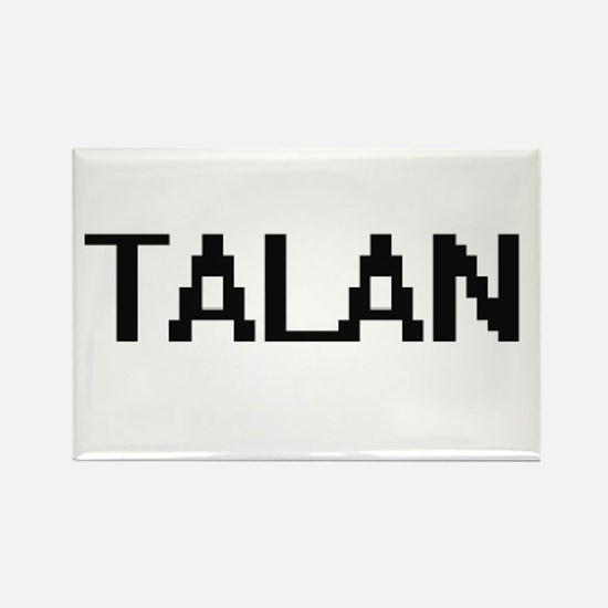 Talan Digital Name Design Magnets