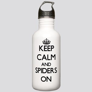Keep Calm and Spiders Stainless Water Bottle 1.0L